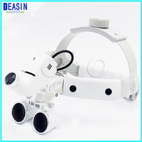 High quality medical led light loupe magnifier head lamp adjustable high intensity operation chargeable dental headlamp surgical