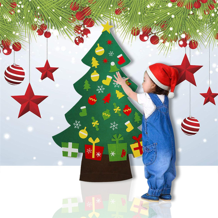 30 Wonderful Diy Felt Ornaments For Christmas: Aliexpress.com : Buy New Door Wall Hanging Christmas Tree
