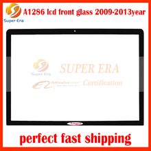 "10pcs/lot for macbook pro 15.4"" front lcd glass A1286 display led screen glass perfect testing 2008-2013year"