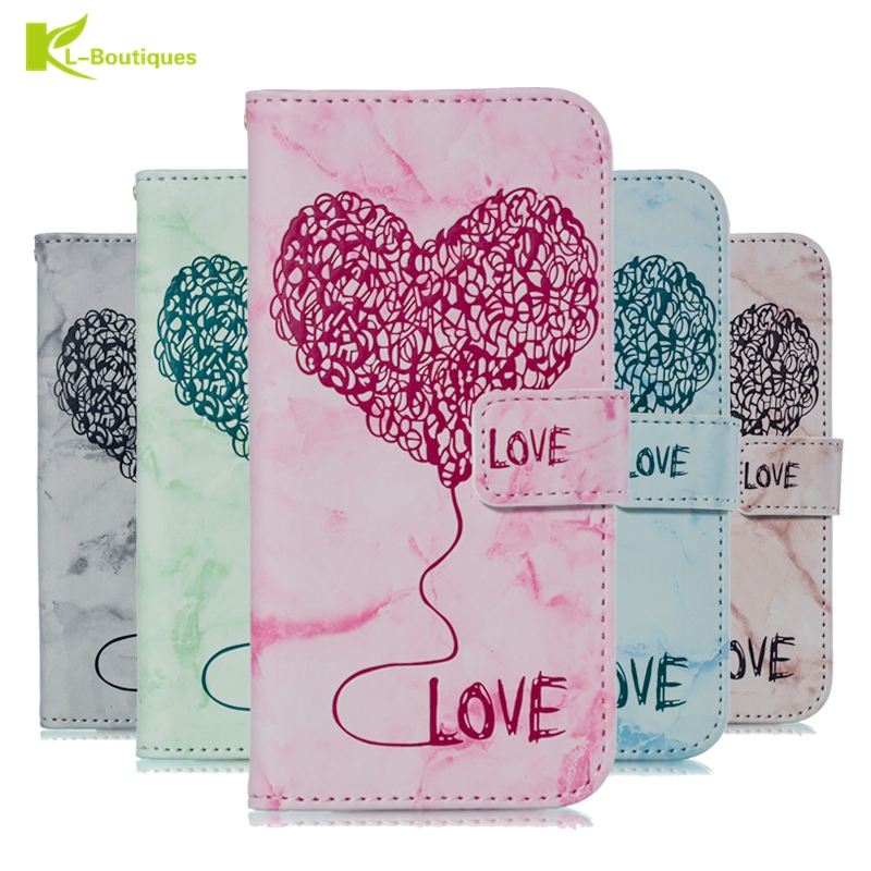 J4 2018 Leather Case on for Pouzdro Samsung Galaxy J4 2018 Case for Galaxy J4 2018 EU Case 3D Love Heart Wallet Flip Cover Coque