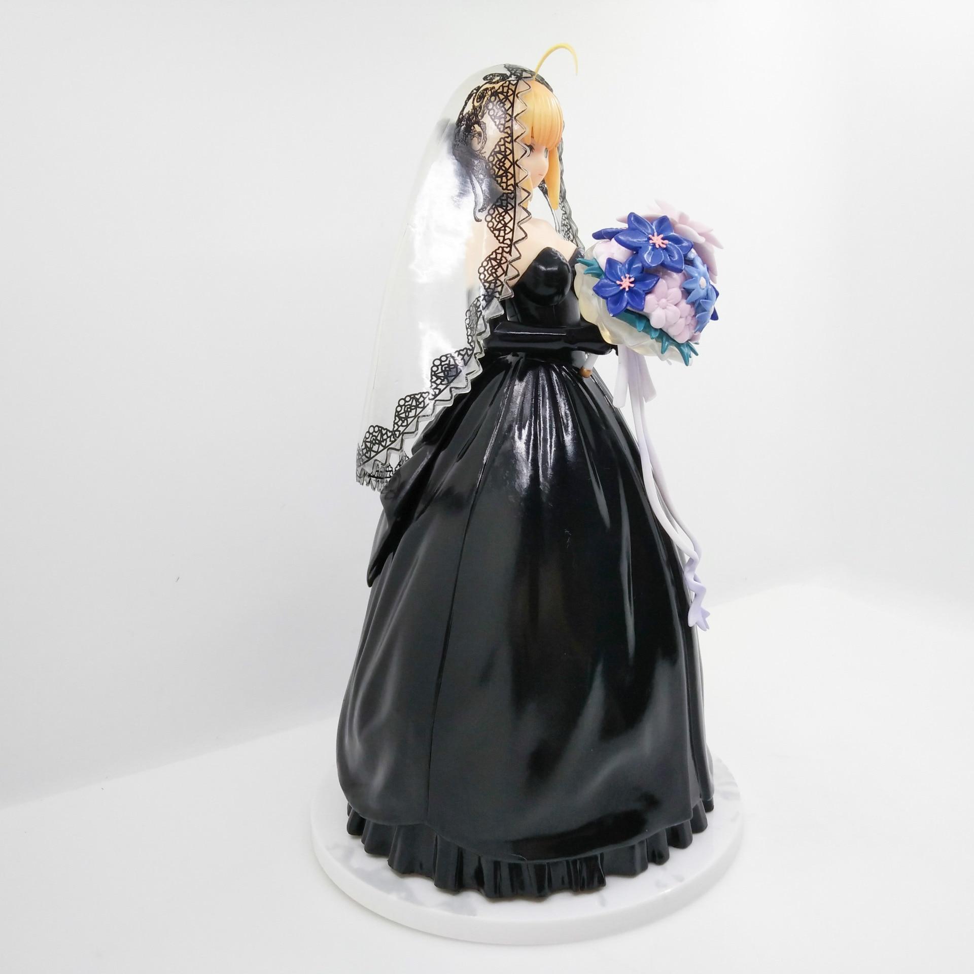 Destin/séjour sabre de nuit robe de mariée noire figurine d'action 10th anniversaire robe royale PVC 25 cm modèle collection nouvelle poupée CHN Ver. - 2