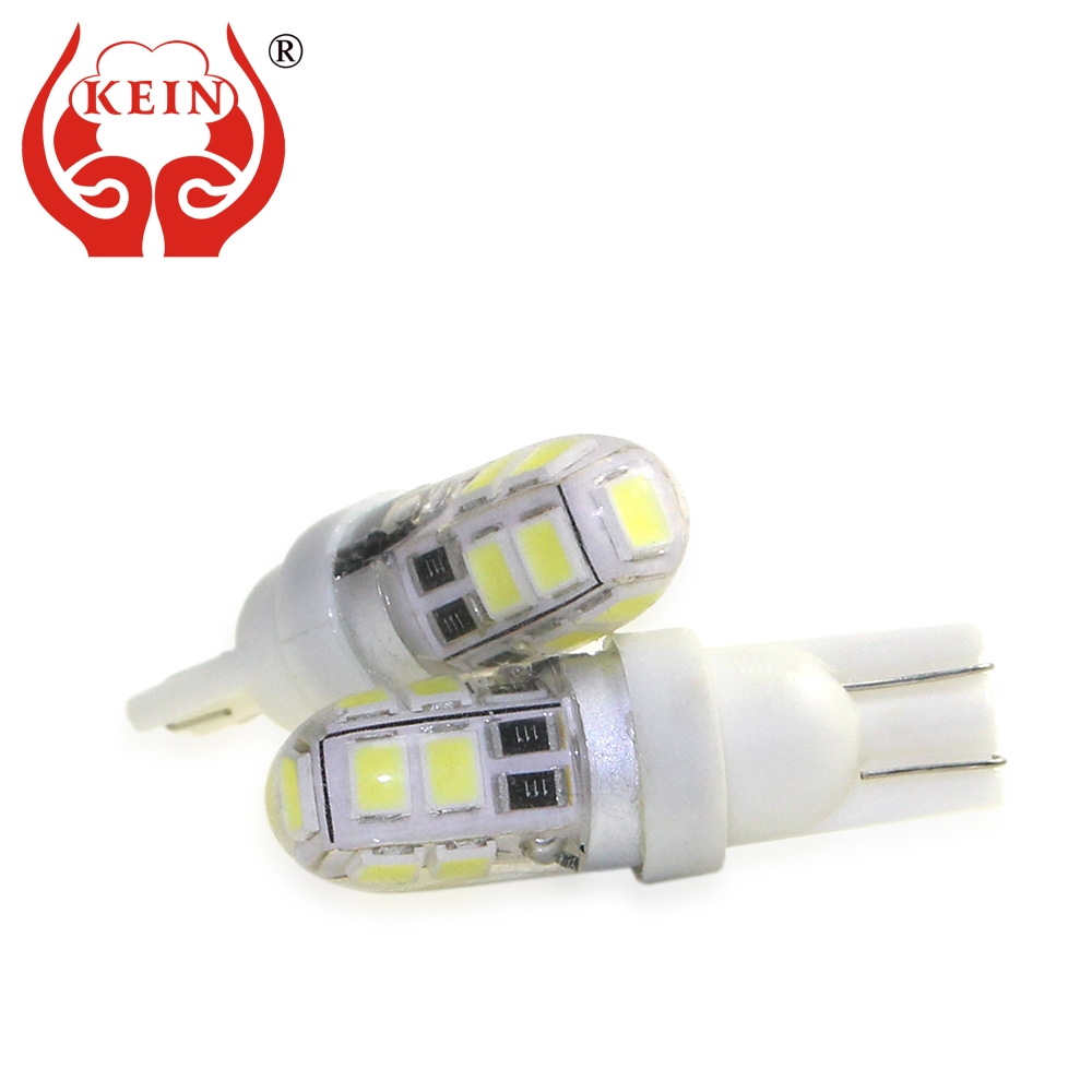 KEIN 1pcs led t10 W5W 194 168 NEW silicone auto car Lights 9smd 2835 t10 led Side Wedge License Plate Tail Signal Lamp Bulb 12V free shipping 10x new t10 158 168 194 w5w 501 led side car auto light lamp wedge bulb rgb