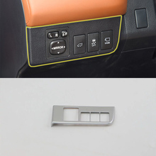 Car Accessories Interior Decoration ABS LHD Head Lamp Adjustment Buttons Cover For Toyota RAV4 2016 Car Styling car accessories interior decoration abs head lamp adjustment buttons cover trims for toyota land cruiser 2016 car styling