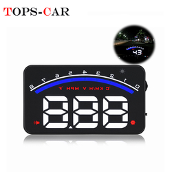 GEYIREN M6 Car HUD OBD2 RPM Meter Head-Up Display Overspeed Warning System Auto Electronic  Water Temperature Alarm