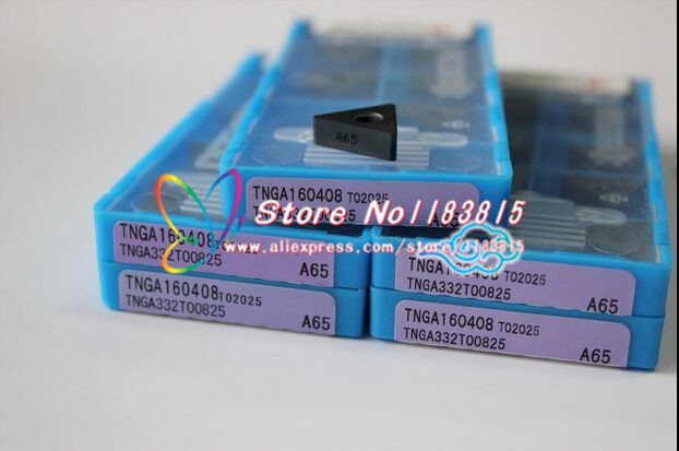 TNGA160408 A65 carbide tip Lathe Insert the lather boring bar CNC tool machine Factory outlets Insert