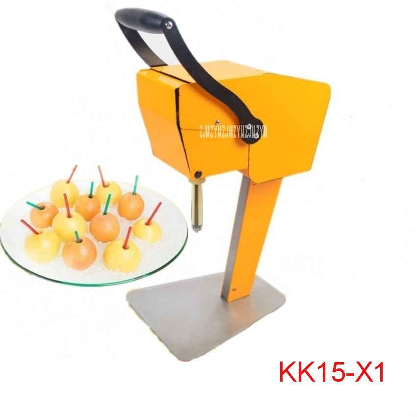 KK15-X1 fruits frais presse-agrumes machine orange fruits frais presse-agrumes pas besoin de peler 100% pur jus direct boire de l'acier inoxydable