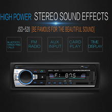 Car Radio Player FM Transmitter Aux Modulator MP3 USB U Disk AUX Stereo Handsfree  Bluetooth