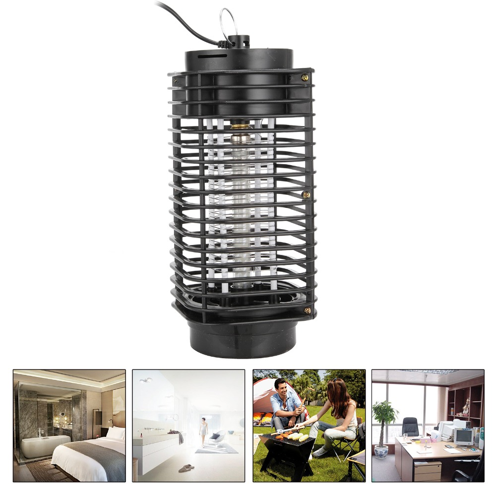 High Quality Modern Design  Bug Zapper Mosquito Insect Killer Lamp Electric Pest Moth Wasp Fly Mosquito Killer 3W 110V