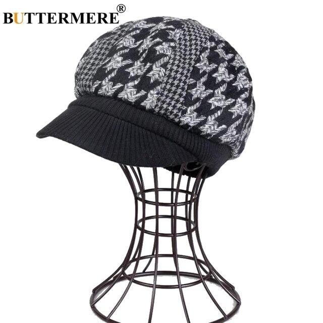 Aliexpress.com: Comprar BUTTERMERE mujeres vendedor gorras de lana ...