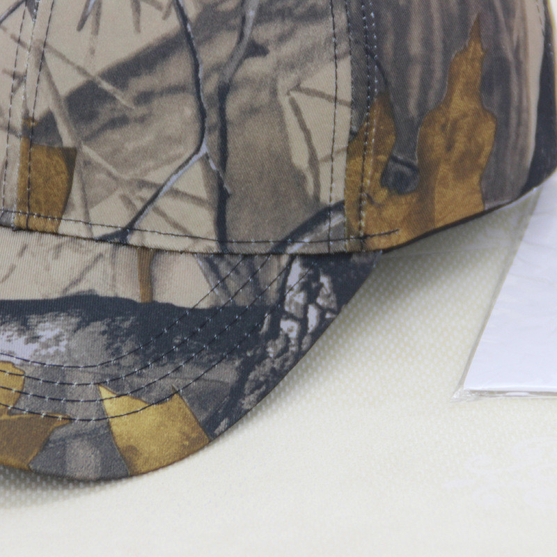 Unisex New Snow Camo Baseball Cap Men Tactical Cap Camouflage Hat Washed Adjustable 4 Colors Hats For Men Women High Quality Cap in Men 39 s Baseball Caps from Apparel Accessories