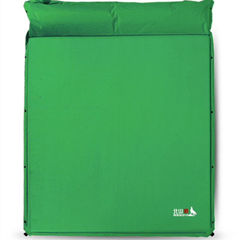 BSWolf 3 to 4 Persons Autoinflation Thickened Moisture-proof Mat Camping Mat for Outdoor Activity