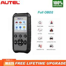 Autel ML629 OBD2 Auto Scanner Diagnostic Tool ABS SRS Car Diagnostic  obdii obd ii Scanner Eobd Automotivo Car Scan tools galletto 1260 ecu remap flasher tool eobd 2 obdii obd