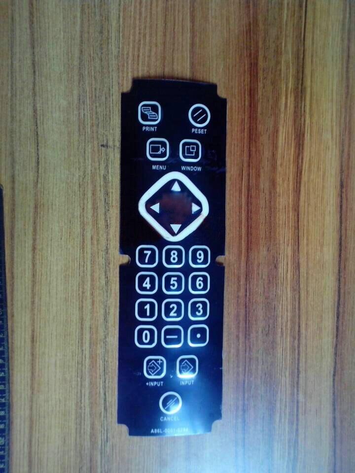 1PCS New For FANUC A86L-0001-0295 Membrane Keysheet Keypad Keyboard A02B-0303-C125 Film