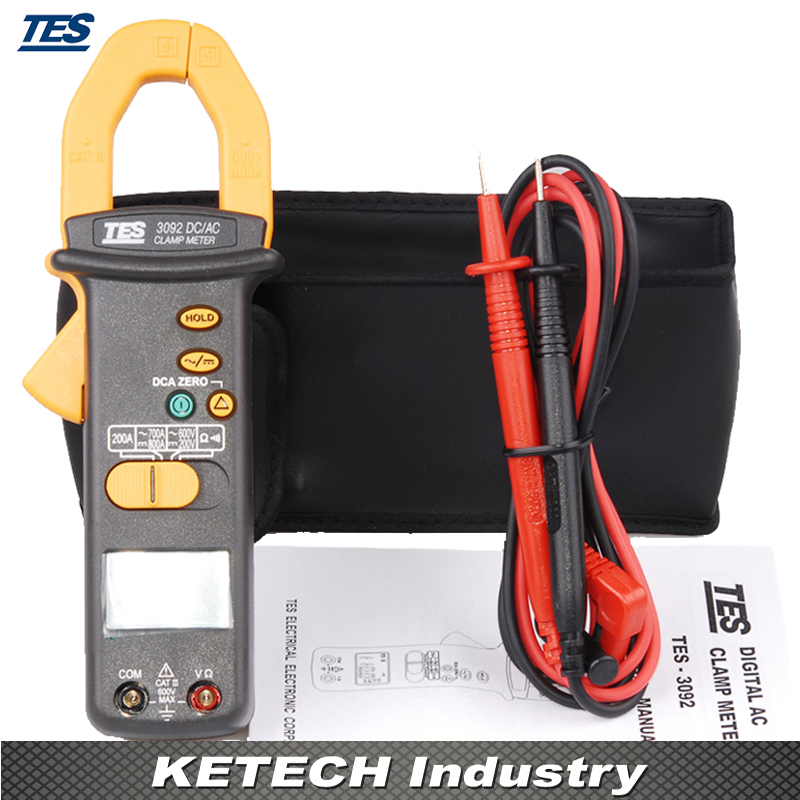 TES-3092 DC/AC Clamp Meter ab 3092