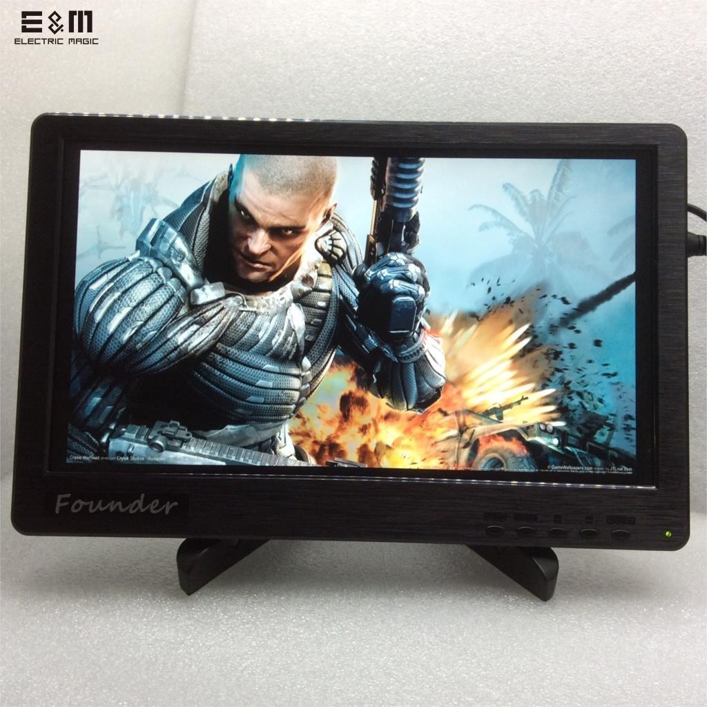 E&M 11.6 inch 1920*1080 IPS LCD Screen Monitor LED Display Speaker HDMI VGA Audio in Xbox PS4 Raspberry Pi 3 Mp4 Player Module