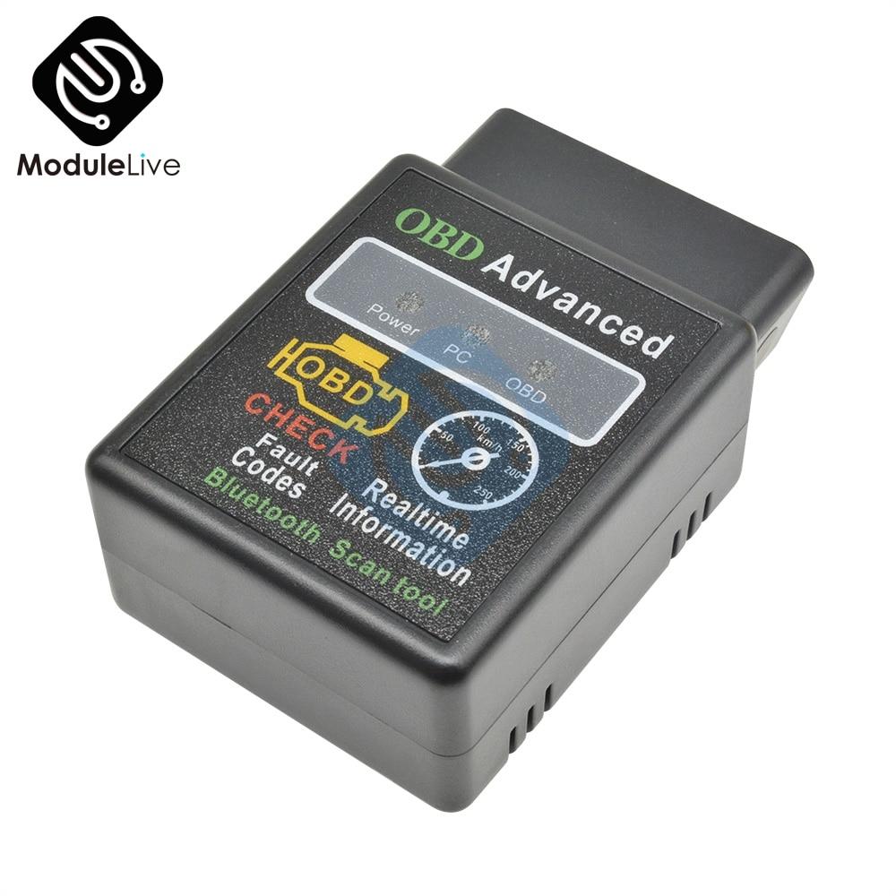ELM327 V1.5 OBD 2 OBD-II Car Auto Bluetooth Diagnostic Interface Scanner For Android Car Diagnostic Tools