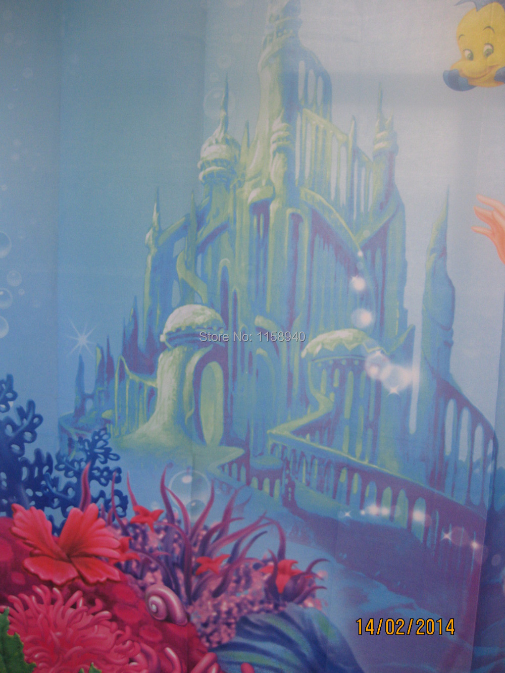 Online Shop 1 Pcs The Little Mermaid Print Fabric Shower Curtain Waterproof  Shower Curtain Sexy Shower Curtains | Aliexpress Mobile