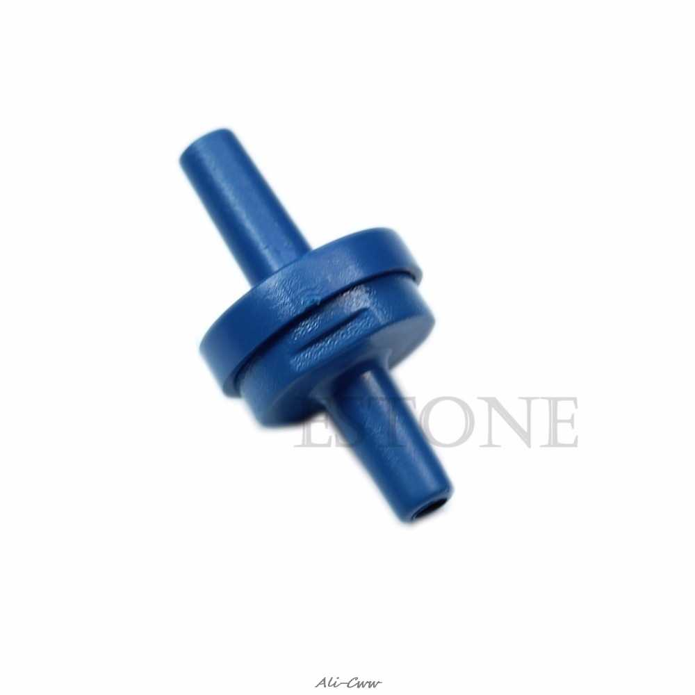 1Pcs Kleine Terugslagklep Voor Air Tube 4 Mm Pomp Aquaria Fish Tank
