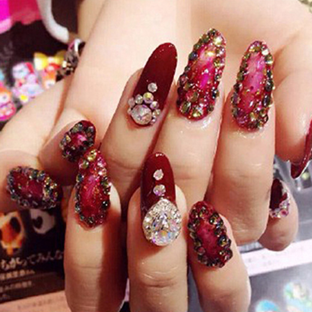 Mini Glue Foil Rhinestone Sticker Adhesive Jewelry Diamond Super ...