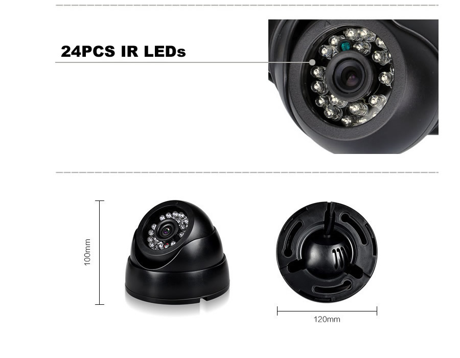 Dome CCTV Camera D61BC7-32 8-2