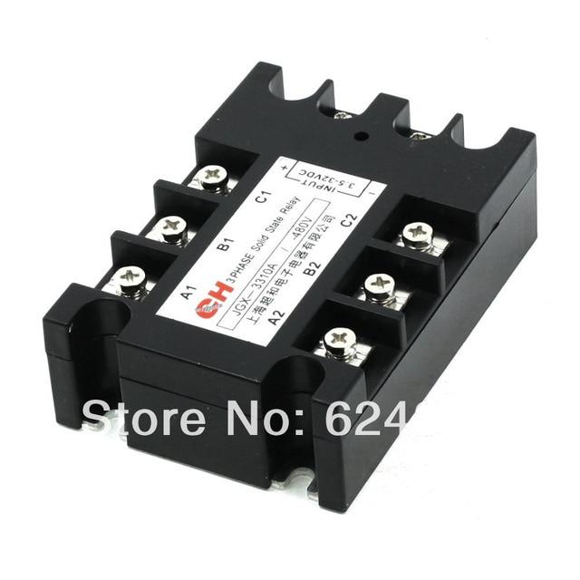JGX 3310 DC 3,5 32 V zu AC 480 V 10A Drei 3 Phase SSR Solid State ...