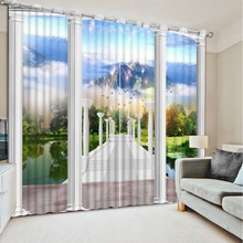 Curtains for window living room roman 3d curtains modern bedroom curtains 3d curtains for living room home bedroom decoration
