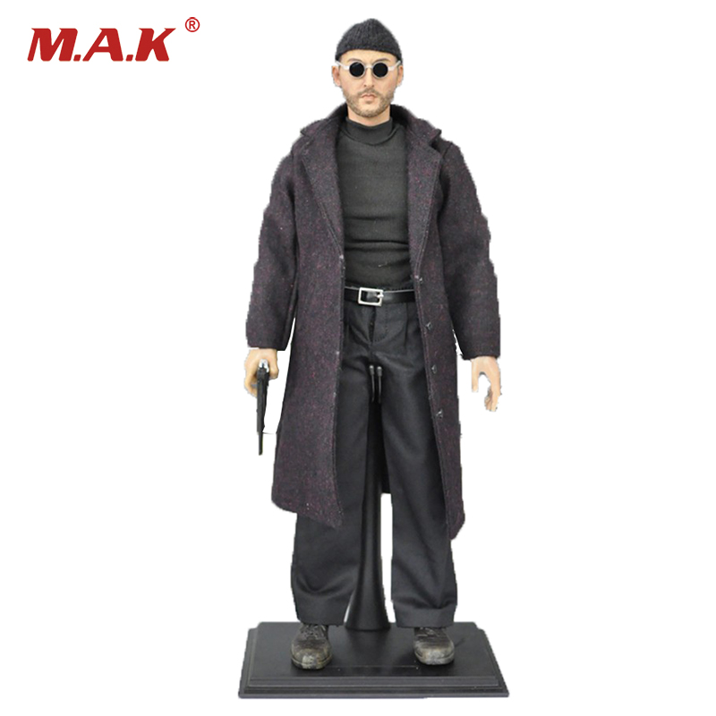 1:6 Scale Leon The Professional Jean Reno Action Figure KMF038 for Collections 1 6 scale full set soldier the lord of the rings elven prince legolas action figure toys model for collections