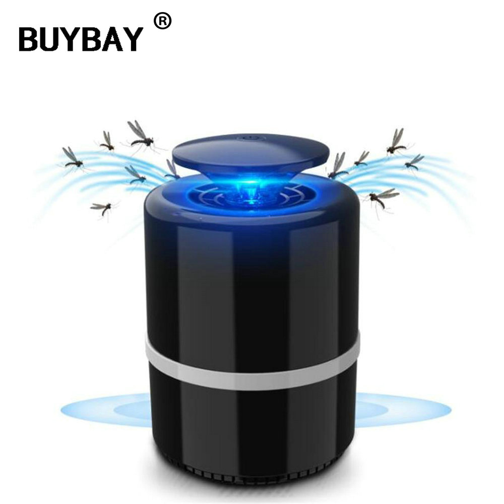 Anti mosquito led USB electric mosquito killer lamp UV night light anti fly mosquito zapper muggen killer insect trap for Living
