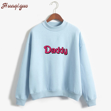 New Kpop Autumn Women Harajuku Hoodies Long Sleeve Letter Pr