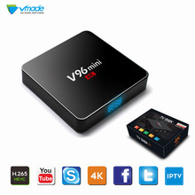 Vmade V96 MINI Original Android 7.1 OS IPTV Box Support Bluetooth YouTube H.265/HEVC Allwinner H3 Smart Mini TV Media Player
