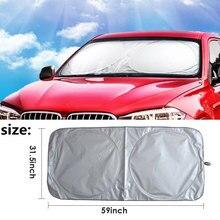 Vehemo 150*80 автомобильный солнцезащитный козырек авто солнцезащитный козырек Солнцезащитный козырек для солнечной защиты большой складной автомобиль для грузовика