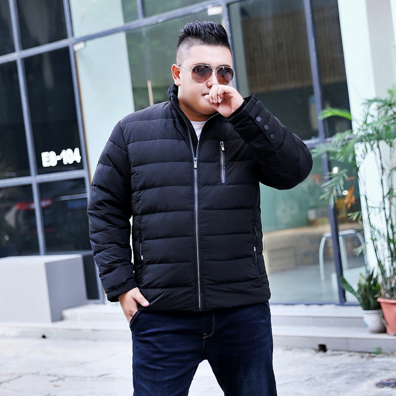 cf465eea7e630 Large size men s jacket winter new big size man fat increase loose men s  long sleeves down jacket male-in Down Jackets from Men s Clothing on  Aliexpress.com ...