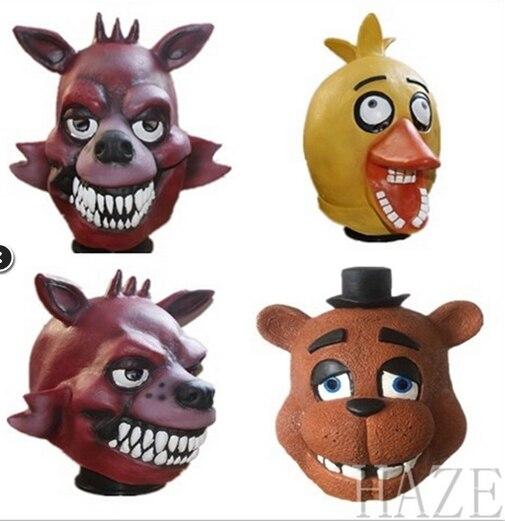 FNAF Five Nights at Freddy's Halloween Masquerade Cosplay Party Wacky Masks