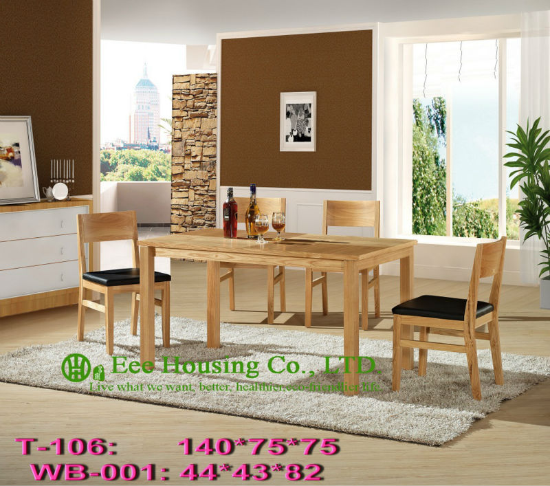T-106,WB-001    Luxurious Solid Dining Chair,Solid Wood Dinning Table Furniture With Chairs/Home Furniture