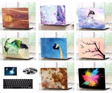 Laptop Matte Shell Case Keyboard Cover Dust Plugs Screen Protector LCD Film Sleeve For 11 12 13 15