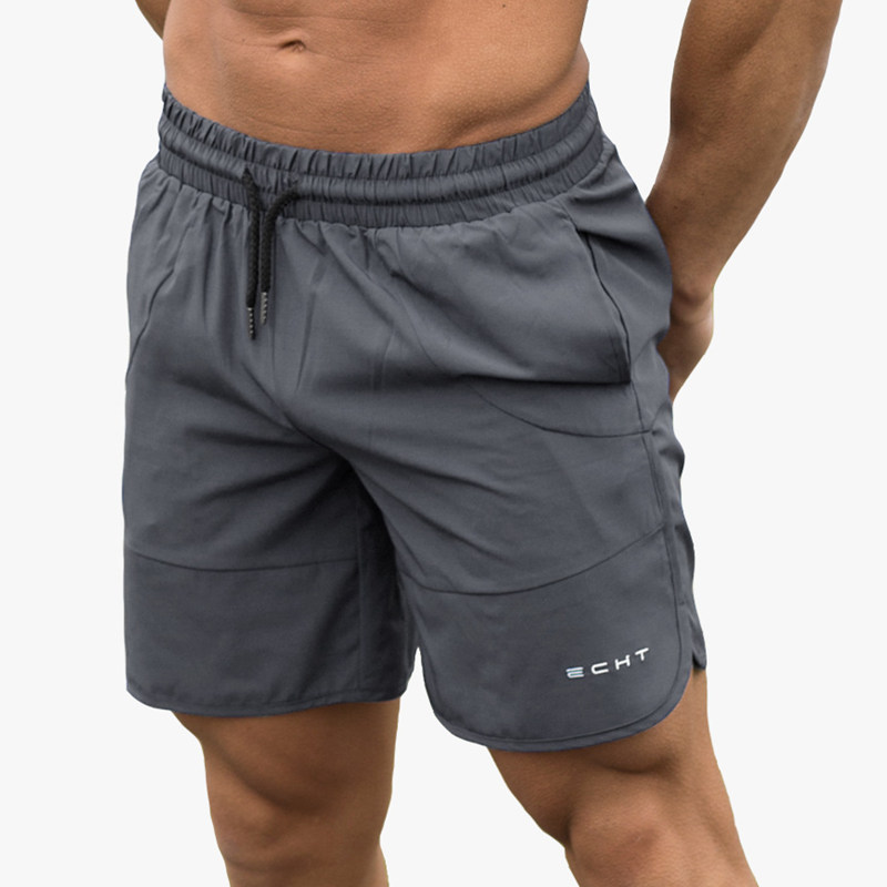 New Men Gyms Fitness Shorts Bodybuilding Sportswear Jogger Workout Quick dryCool Short Pants Man Casual Fashion Beach Sweatpants in Casual Shorts from Men 39 s Clothing