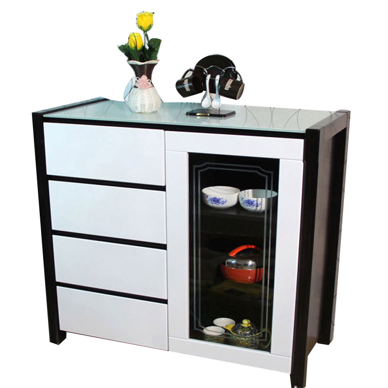 Modern Restaurants Storage Cabinets Dining Room Tea Glass Sideboard Cabinet Minimalist Furniture S1