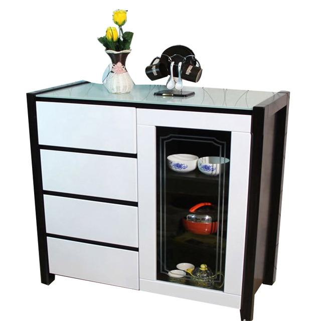 Modern Restaurants Storage Cabinets Dining Room Tea Glass Sideboard Cabinet Minimalist Furniture S1