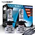 Светодиодная лампа NOVSIGHT для авто  H4  Hi/Lo  H7  H11  9005  9006  HB3  CSP Chips  6500K  60 Вт  10000LM  фара  противотуманный светильник