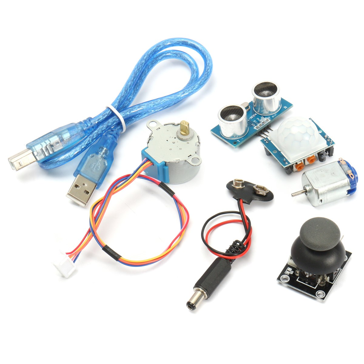 Image 4 - New DIY Electric Unit Ultimate Starter Kit for Arduino MEGA 2560 1602 LCD Servo Motor LED Relay RTC Electronic kit-in Electronics Stocks from Electronic Components & Supplies