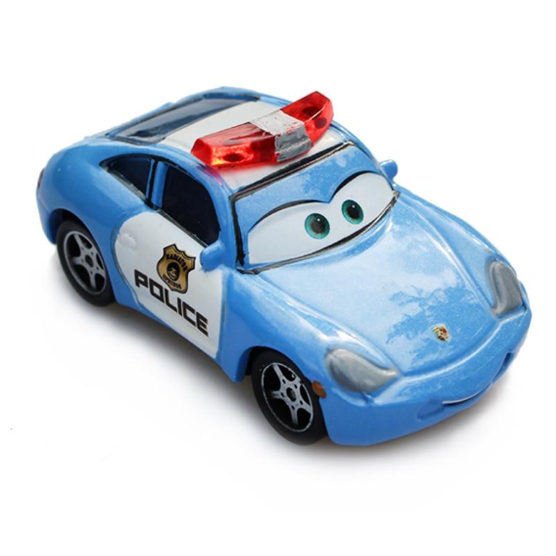 Hyundai Sonata Police Car >> Disney Pixar Cars 2 Police Sally Diecast Metal Alloy Model Cartoon Movie Toy Car For Children ...
