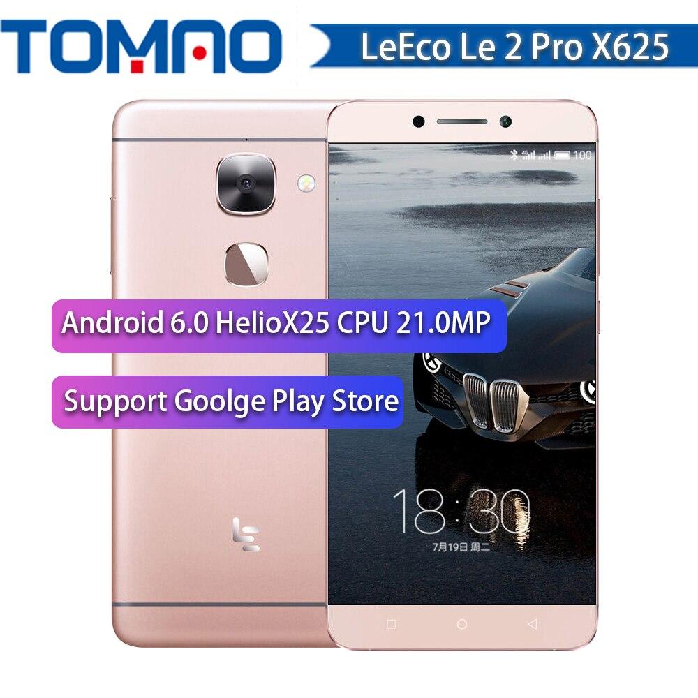 Original Letv LeEco Le 2 Pro X625 Smartphone 5 5 FHD 4GB 32GB 4G LTE Mobile