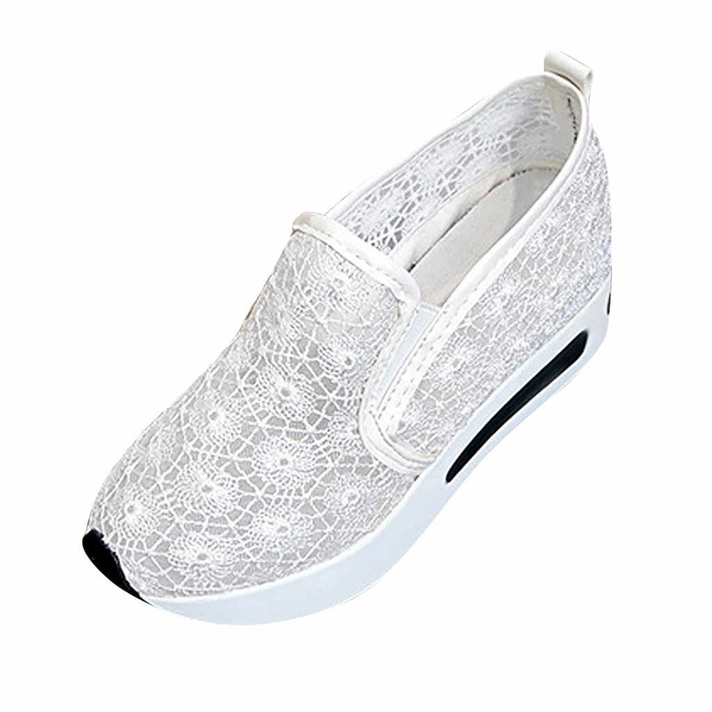 أحذية عارضة النسيج يطير شبكة تنفس ضوء لينة أسود Slipon رجل حذاء الذكور المدربين رياضية الإنسان سباق دروبشيبينغ