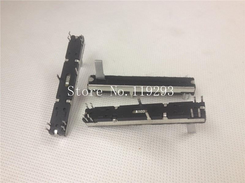 lan For Fast Shipping lan bella Japanese Original Empire Noble Rk12-b103 B10k 20mm Handle 6 Feet Potentiometer--10pcs/lot