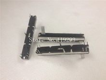 [BELLA]Joint venture factory black mixer 6 cm B10KX2 double fader potentiometer B103 B10K 15MM--10PCS/LOT mixer fader double potentiometer a10k handle 8t sc 100g