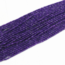 Natural ametrine stone 2x4mm faceted abacus round loose beads diy jewelry 15″ B565