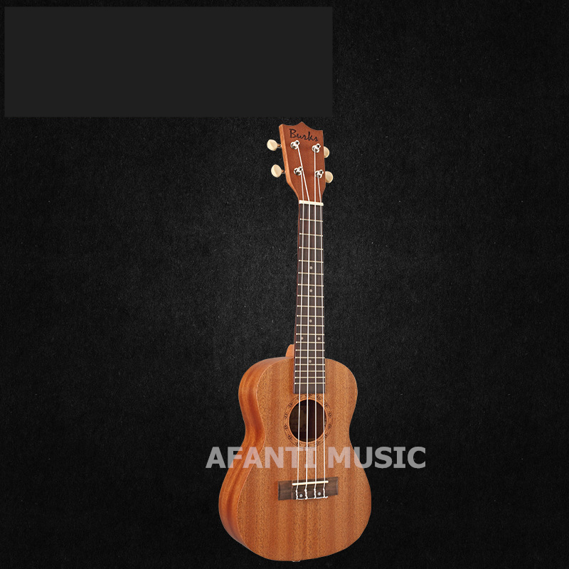 Afanti  Music Sapele / 23 inch Ukulele (DGA-255) 13 inch double tone afanti music snare drum sna 109 13