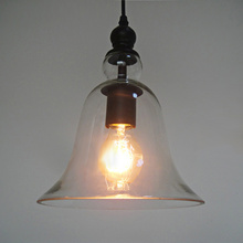Buy art deco glass lamp shades and get free shipping on aliexpress 115m 220v e27 industrial bell glass lamp shade retro pendent light socket super soft lighting aloadofball Choice Image