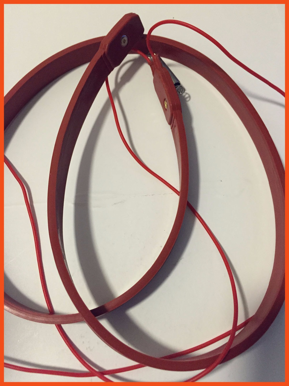 30mmx1M 80W 220V Industrial laboratory Electric heating Waterproof Flexible Silicone Rubber Heater Belt Unfreezer for Pipeline