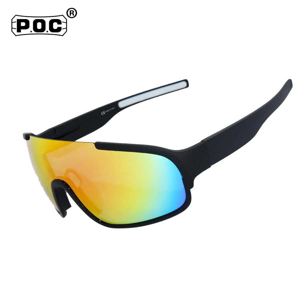 82625267071 4 Lens UV400 Polarized Cycling SunGlasses Cycling Eyewear Mountain Bike  Goggles Bicycle Cycling Glasses